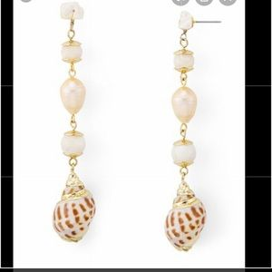 Bloomingdales shell earings